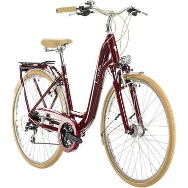 Vélo de Ville CUBE ELLA RIDE Rouge 2020